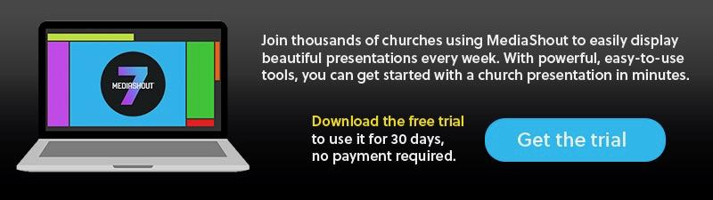 MediaShout 7 Free Trial