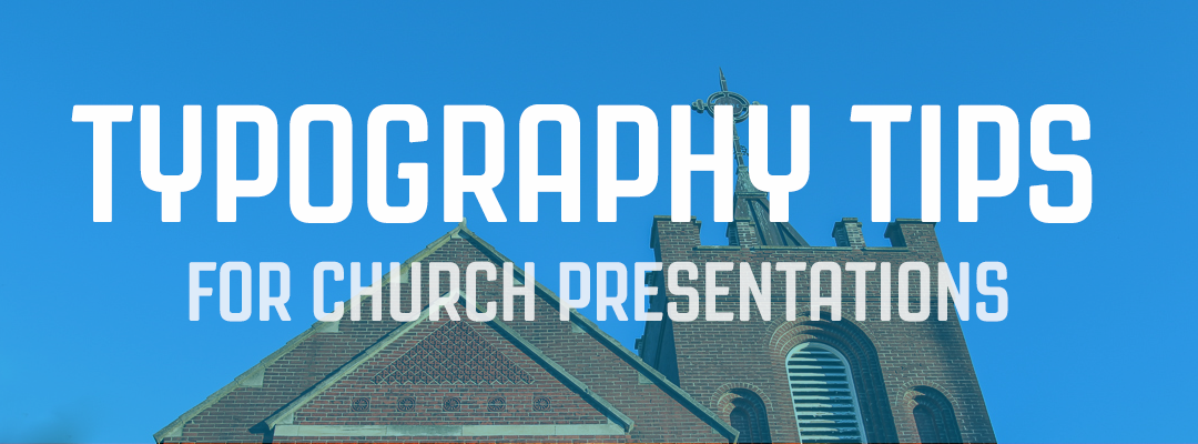 4 Basic Typography Tips for Presentations