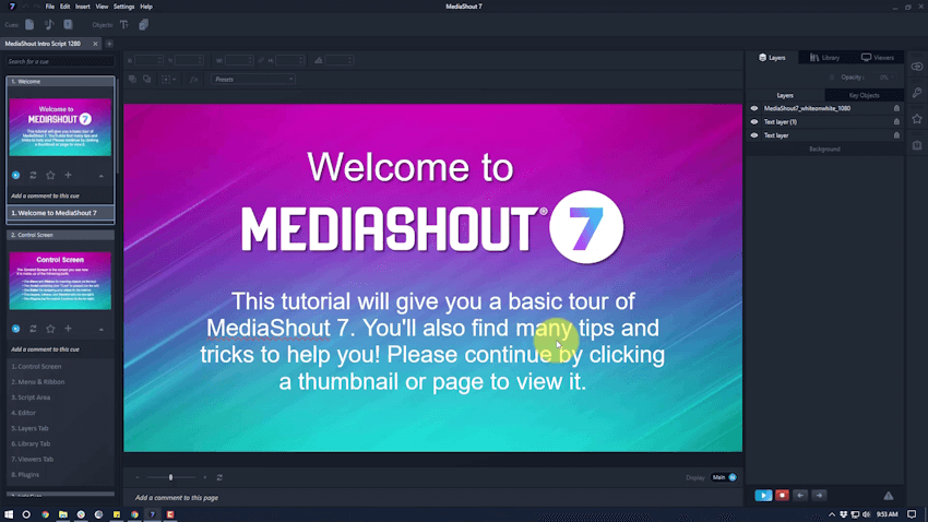 MediaShout Church Presentation Software